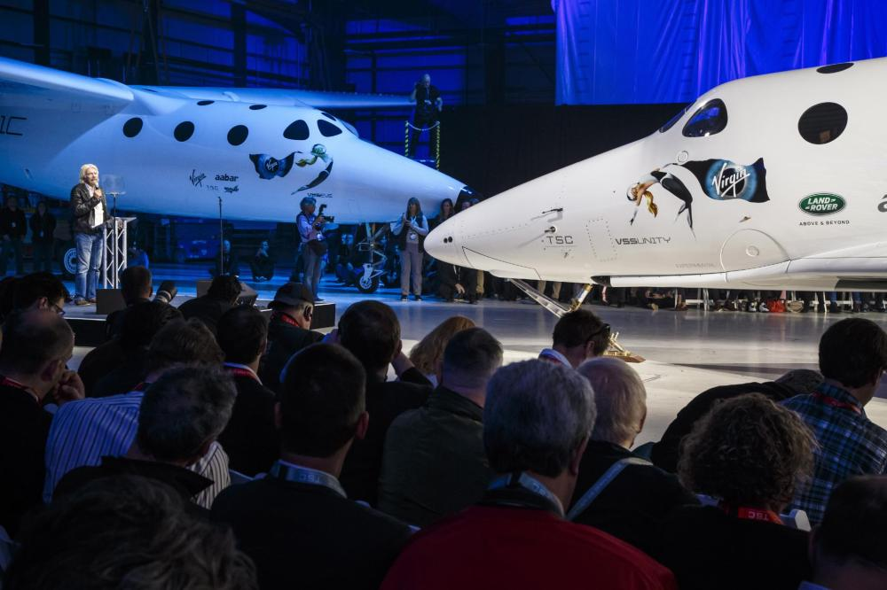 Range Rover Autobiography Tows Virgin Galactic's SpaceShipTwo In Global Unveiling - Emerging Magazine Aerospace News