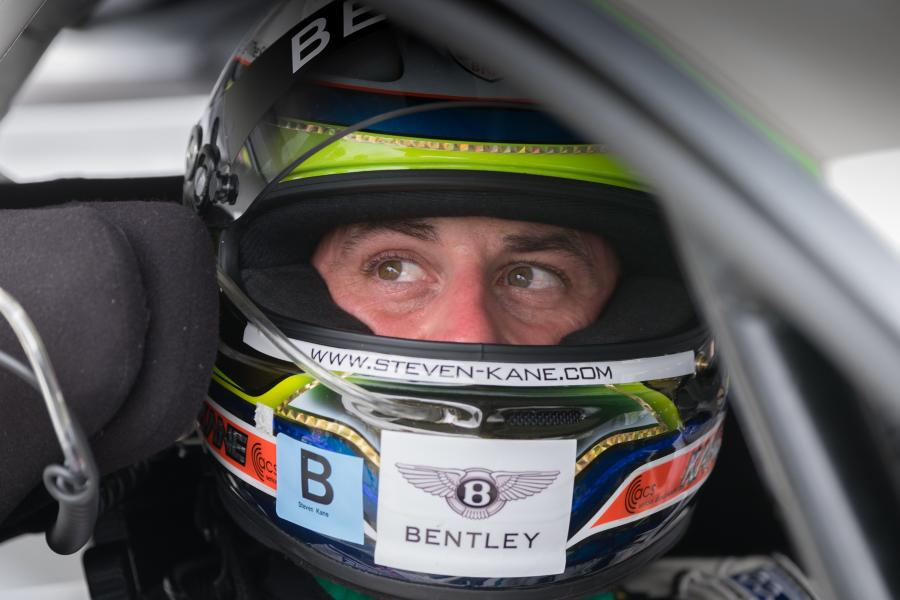 Steven Kane (GB) - Car  #10 - Emerging Magazine Bentley Team Racing News