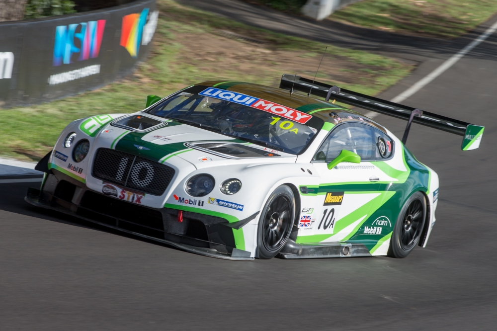 The #10 Continental GT3 qualified in P7