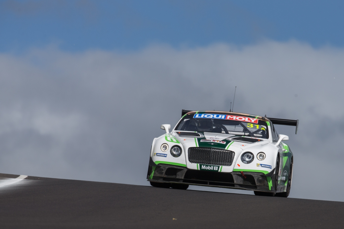 Bentley Team M-Sport Continental GT3s Top 10 Qualifiers for Bathurst 2016