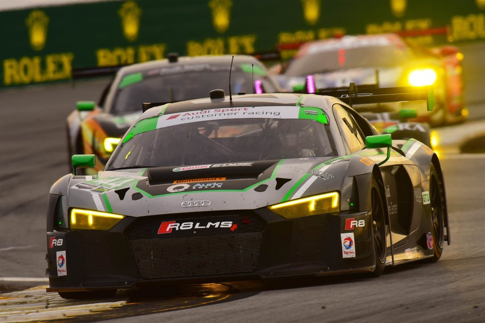 THE AUDI R8 LMS WINS THE 2016 ROLEX 24 AT DAYTONA IN ITS US RACE