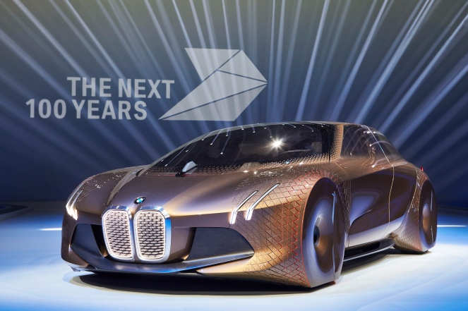 The Amazing BMW Vision Next 100 Celebrates 100 Years of BMW