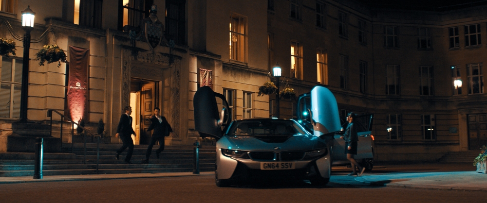 The BMW i8 in Late Shift - Emerging Magazine