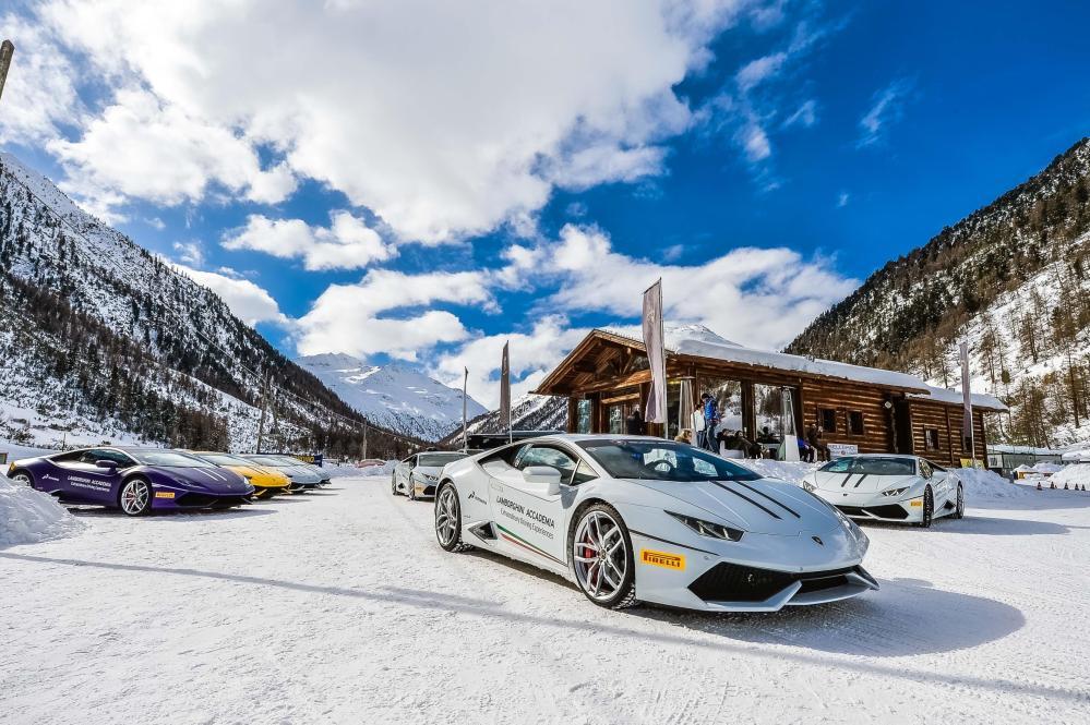 Winter Accademia Livigno - Emerging Magazine Lamborghini Sports and Drving Courses