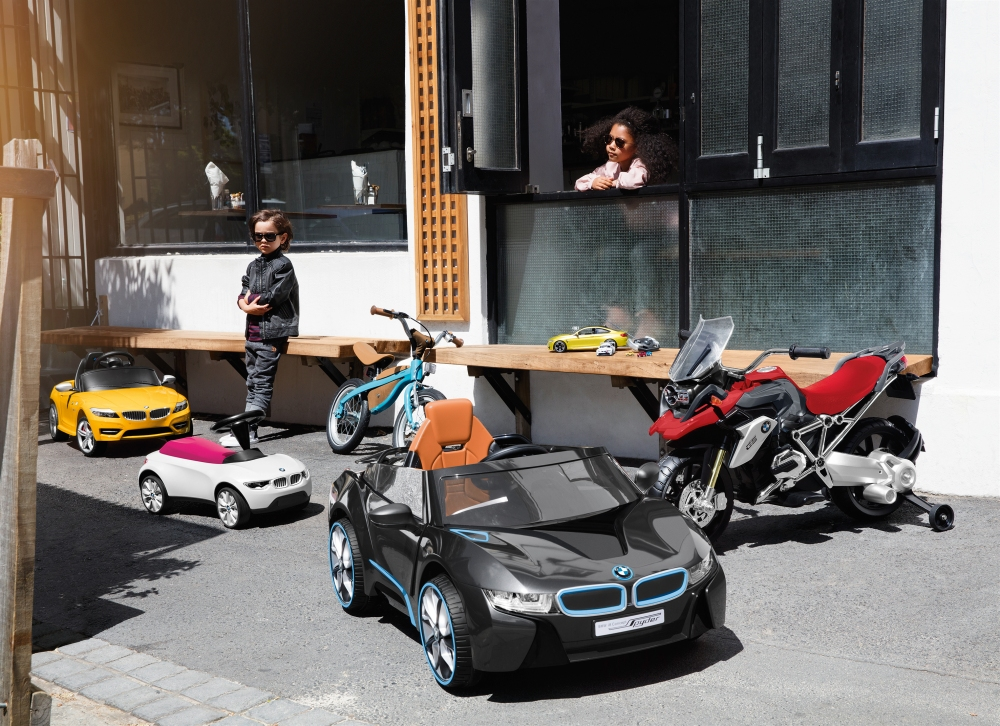 Emerging Magazine - BMW Kids Collection - Riding Toys